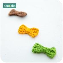 Bopoobo 20PC Crochet Beads Gift Teething Soft Bow Tie Baby P