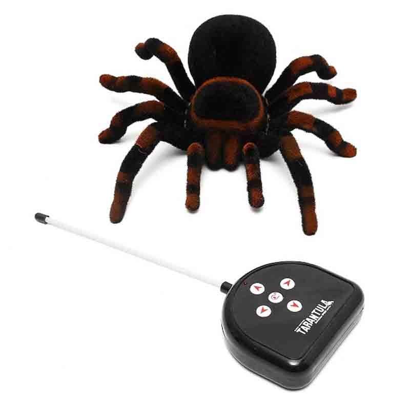 Remote Control Scary Creepy Soft Spider Infrared RC Car Tarantula Toy Prank Gag
