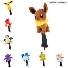 New style golf club head covers, various cute animal wood club covers, unisex, exquisite gifts