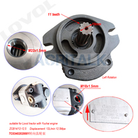 The hydraulic steering pump for Lovol tractor  part number: TC03402020001