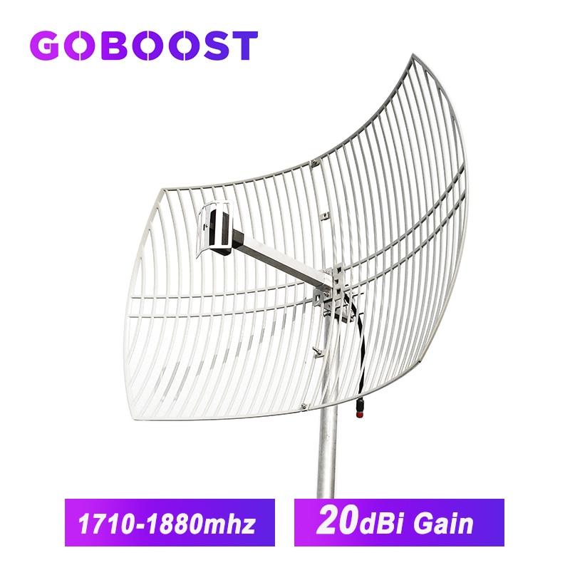 20dBi Gird Antenna LTE 1800MHz External Antenna For 4G LTE 1800MHz Cellphone Cellular Signal Booster Amplifier 4G Big Coverage *