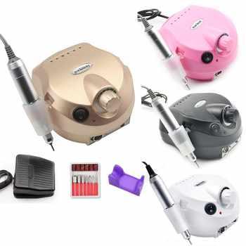 35000 RPM, taladro profesional de manicura eléctrica uña, equipo de uñas, Lima eléctrica de uñas con herramienta de fresado cortador de uñas artístico