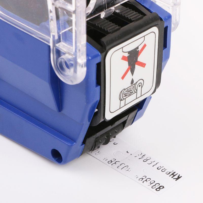 10 Rolls Price Label Paper Refill Tag Mark Sticker Double Row For MX-6600 Labeller Gun M5TB