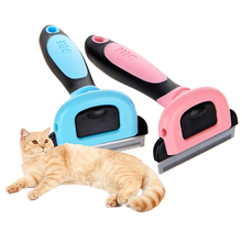 Pet stainless steel dog comb brush hair remover for s cats puppy cleaning tool  accessories pet hair deshedding dog cat brush comb sticky hair gloves hair fur cleaning for sofa bed clothe pets dogs cats cleaning tools