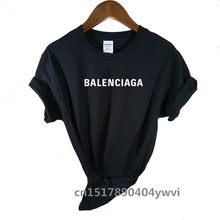 Camiseta con diseño de logotipo Popular para hombres y mujeres, camiseta de manga corta multicolor, informal, 2021