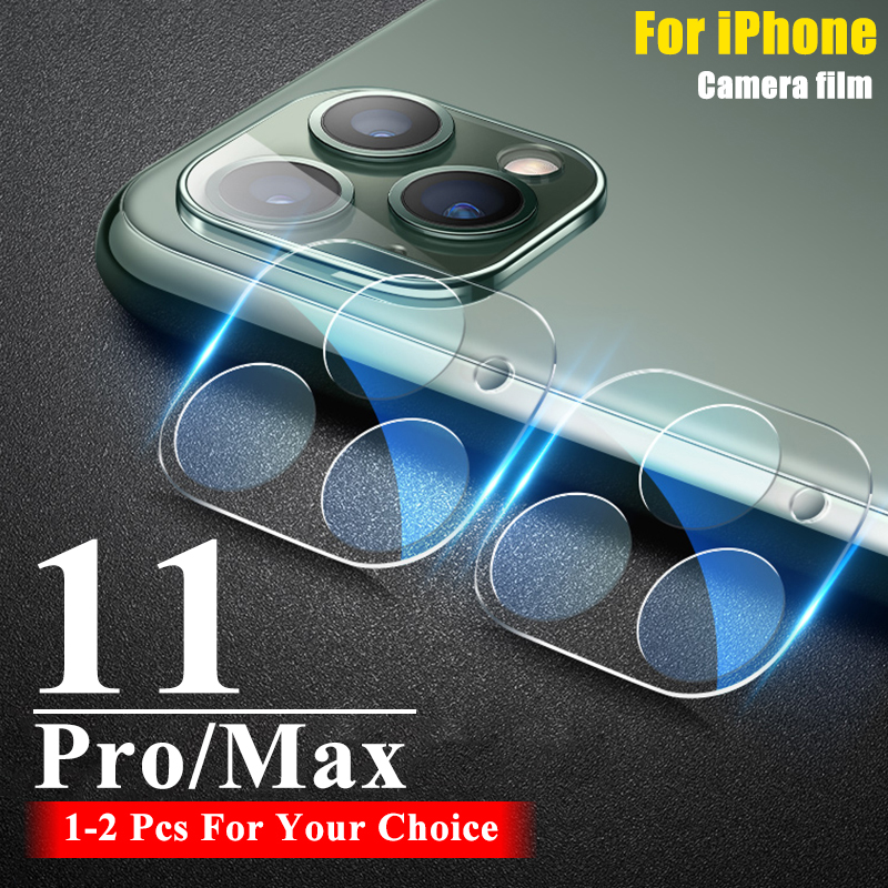 2Pcs Lens Protective Glass For iPhone 11 Pro Max Camera Tempered Glas 11Pro Film Screen Protector 11Max Promax Tremp Armor Sheet(China)