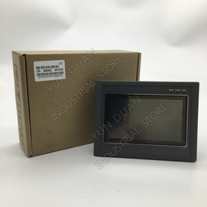 4.3'' HMI PLC all in one Integrated 4.3Inch Touch Panel Transistor Output Digital 24 I/O 12DI 12DO Analog 2AI 4AI 0-10V Modbus(China)