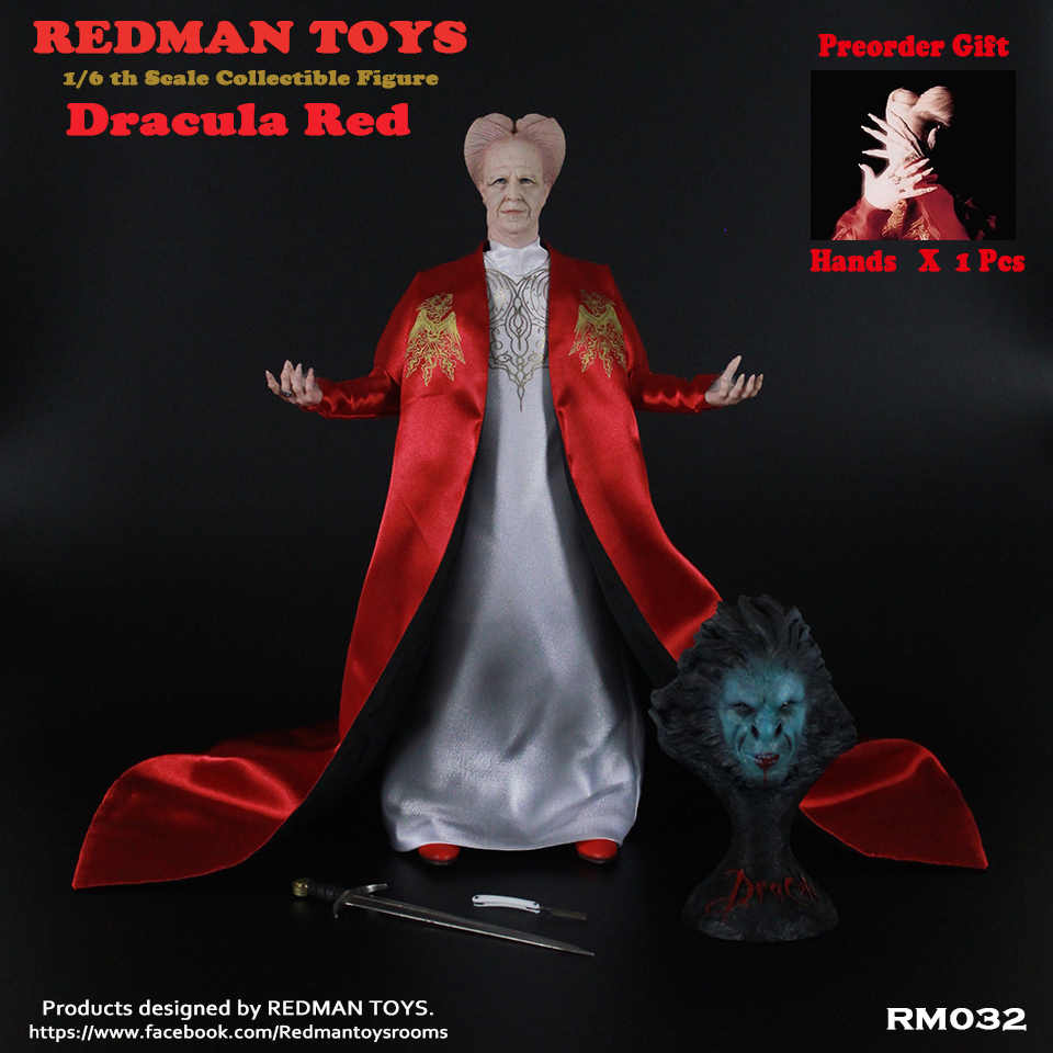 REDMAN TOYS 1//6 Dracula Vampire Action Figure RM033 Collection Model Toy