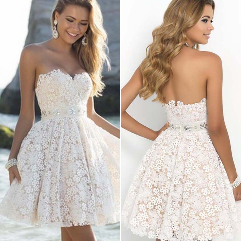 Short <font><b>Bridesmaid</b></font> <font><b>Dress</b></font> 2020 New Elegant Wedding Party <font><b>Dresses</b></font> Backless <font><b>Sexy</b></font> Sweetheart Robe De Soiree Vestido Madrinh image
