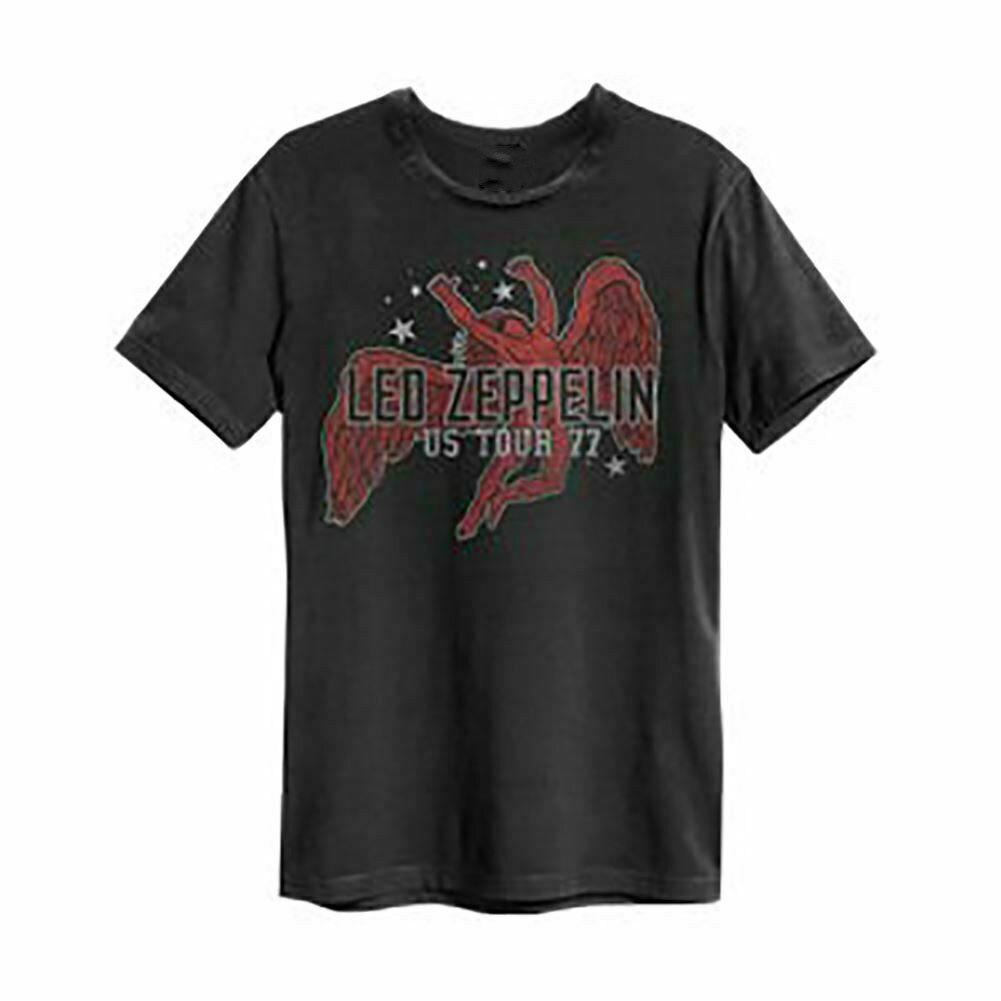 Led Zeppelin nos Tour 77 Icarus amplificado camiseta Unisex Princesa coreana borlas cabeza opaca cortina paño cortina + Voile cortinas velos de tul para salón dormitorio cortina 77 #25