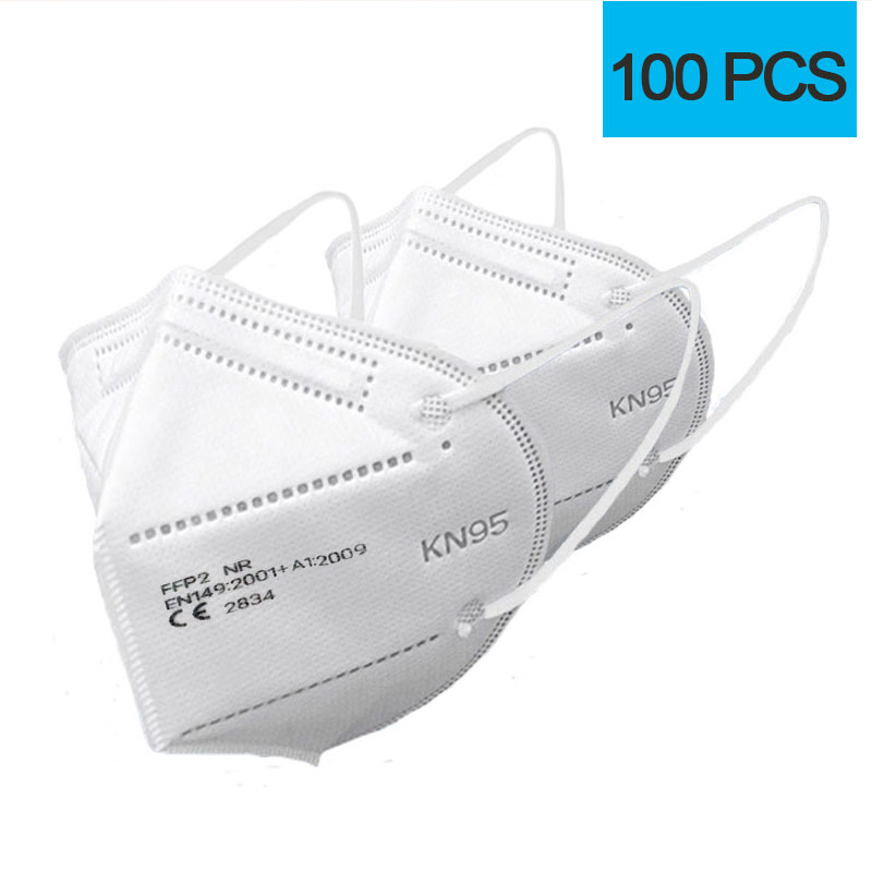 100pcs White