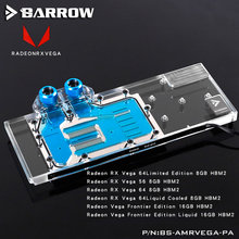 Water-Cooling-Block VEGA BS-AMRVEGA-PA Graphics-Card Barrow Full-Cover Radeon Rx