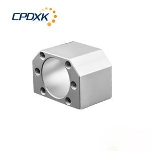 Image 4 - Vis à billes CNC 20mm, SFU2005 1500mm avec fin dusinage BKBF15 + écrou de vis à billes 2005 + support + raccord