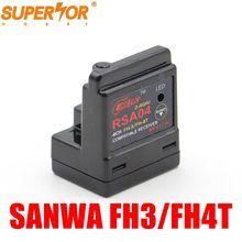 Cooltech RSA04 ARX 482R 4CH Sanwa receptor de Superfície FH 3/FH 4T M12 M11X EXZES X MT 44 MX 3X GEMEOS X MT S MT 4S M12S powerstar