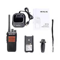 """מכשיר הקשר שני הדרך 2pcs Retevis RT76 Handy מכשיר הקשר 5W GMRS מורשה דיבורית VOX שני הדרך רדיו GMRS רדיו תחנת Comunicador מקמ""""ש (5)"""
