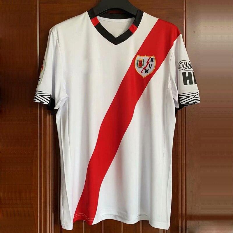 2020-21 alta qualidade personalizar camiseta rayo vallecano nova casa alvaro garcia jose pozo oscar guido trejo vallecano