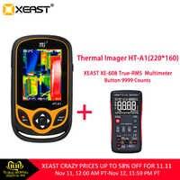 XEAST HT-A1 de téléphone portable d'imagerie thermique 220*160 résolution caméra infrarouge outil de mesure HD 100% livraison rapide de moscou