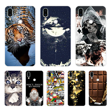 Meizu Note 9 Case Meizu Note9 Case Silicone Soft TPU Back Cover Phone Case Global Version Meizu Note 9 Note9 4G LTE M923Q Case cheap Floral Animal unicorn Fitted Case Dirt-resistant As pictures show Support For Meizu Note 9 Case For Meizu Note 9 Case Cover