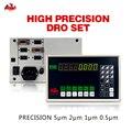 Прямая почта-drop DRO одноосный цифровой индикации DRO и фрезерование с градуированным токарным станком