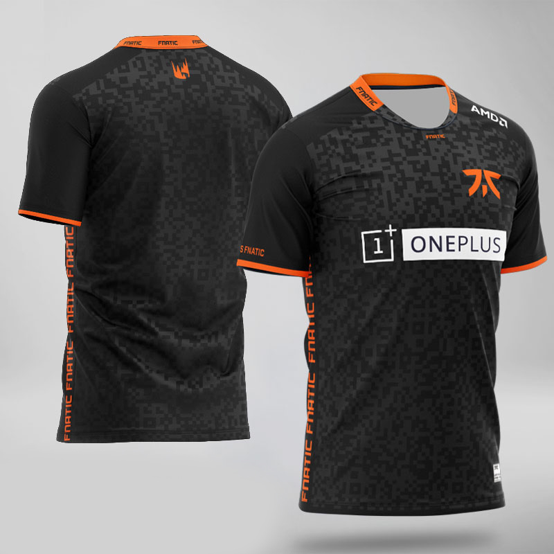 2020 New Fnatic Jerseys Customized Name Tshirt REKKLES Fans T-shirt Men Women FNATIC T Shirts  Tee Shirt Homme