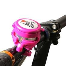 2-в-1 велосипед колокольчик сплав гора дорога велосипед рог звук сигнализация с зеркалом алюминий пластик прозрачный звук для женщин малыш велосипед