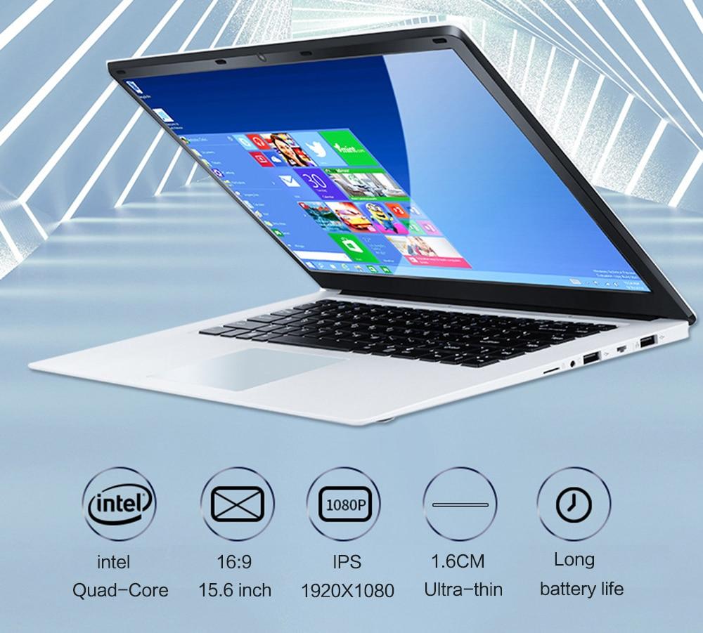 15.6 inch IPS 1920x1080 J3455  Laptop Quad Core Notebook Computer 8GB +128GB 256GB 512GB 1T SSD ROM Windows 10 Laptop Ultrabook-1