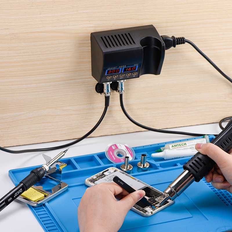 Réparation soudure outils 8898 LCD affichage numérique