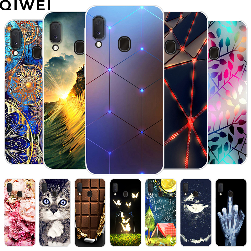 5.8'' For <font><b>Samsung</b></font> <font><b>Galaxy</b></font> <font><b>A20e</b></font> Case 2019 Fashion Slim Silicone Soft TPU Back Cover Coque For <font><b>Samsung</b></font> <font><b>A20E</b></font> A 20E Phone Cases Capas image