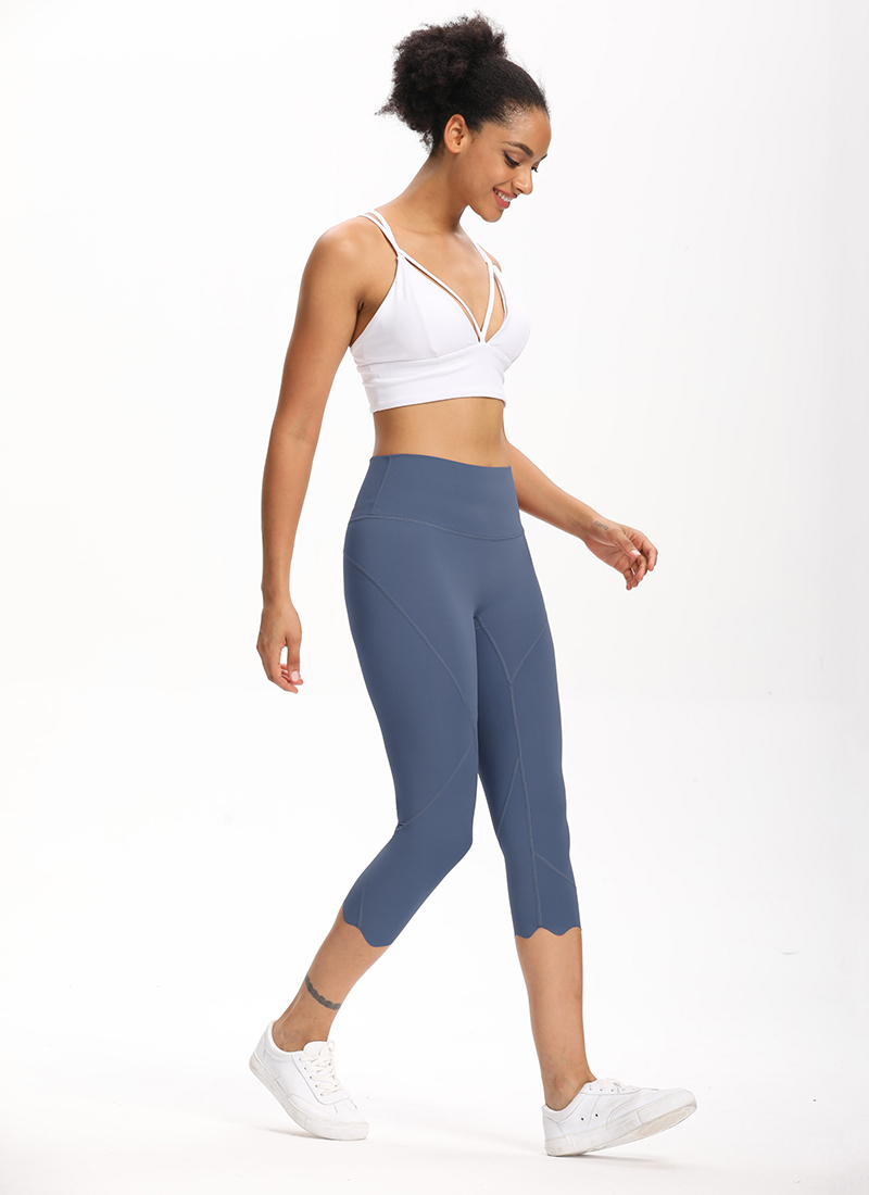 H106017f6d8b8489ba6940556cf75e903l Cardism High Waist Sport Pants Women Yoga Sports Gym Sexy Leggings For Fitness Joggers Push Up Women Calf Length Pants Wave