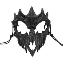 5 стилей, маска японского дракона, Бог, Экологически чистая, косплей, реквизит, унисекс, Хэллоуин, животное, тигр, натуральная смола, маски