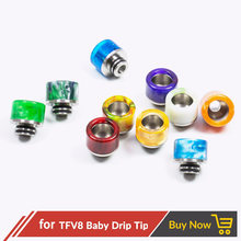 Quartz Banger 100pcs/lot Epoxy Resin Drip Tip 510 for V8 Baby / Kayfun V5 / Taifun GT3 Mini Mouthpiece 510 Drip Tip(China)