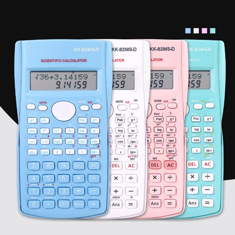 2021 New School Engineering Scientific Calculator Students Stationary Calculating Tools