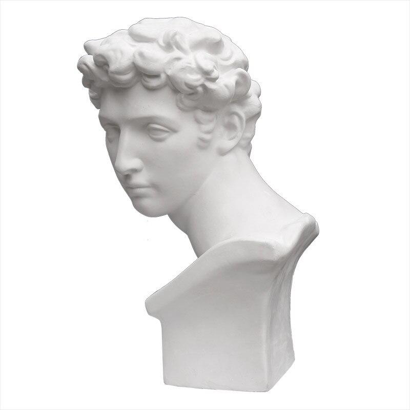 Sculpture Figurine Statue Resin Sketch Plaster Statue Artist Model Decor Agrippa