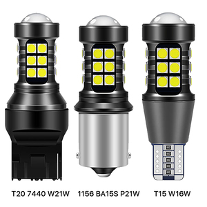 2x W16W T15 1156 P21W BA15S 7440 W21W WY21W светодиодный лампы 3030 27SMD Canbus Резервное копирование светильник 921 912 заднего хода автомобиля Лампа ксенон белый 12V|Сигнальная лампа|   | АлиЭкспресс