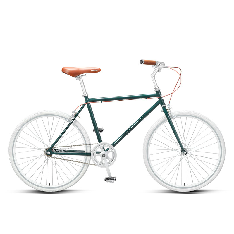 women commuter <font><b>bike</b></font> 24inches <font><b>bike</b></font> Commuter bicycle single speed vintage <font><b>Bike</b></font> Cruiser frame image