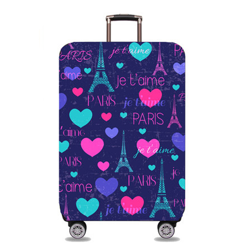 JULY'DOSAC Travel Suitcase Case Cover Accessories  Elastic Luggage Cover Luggage Protective Apply To 18-32inch Suitcase