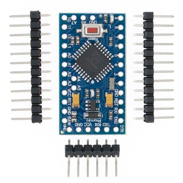 100 pces atmega328p pro mini 328 mini atmega328 5v/16mhz 3.3v/8mhz para arduino