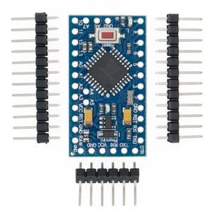 Image 1 - 100pcs ATMEGA328P Pro Mini 328 Mini ATMEGA328 5V/16MHz 3.3V/8MHz for arduino
