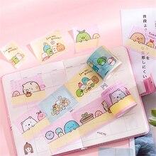 1 Pcs  Cute Bow Sumikko Gurashi Super Bullet Journal Washi Tape Adhesive DIY Scrapbooking Sticker Label Masking