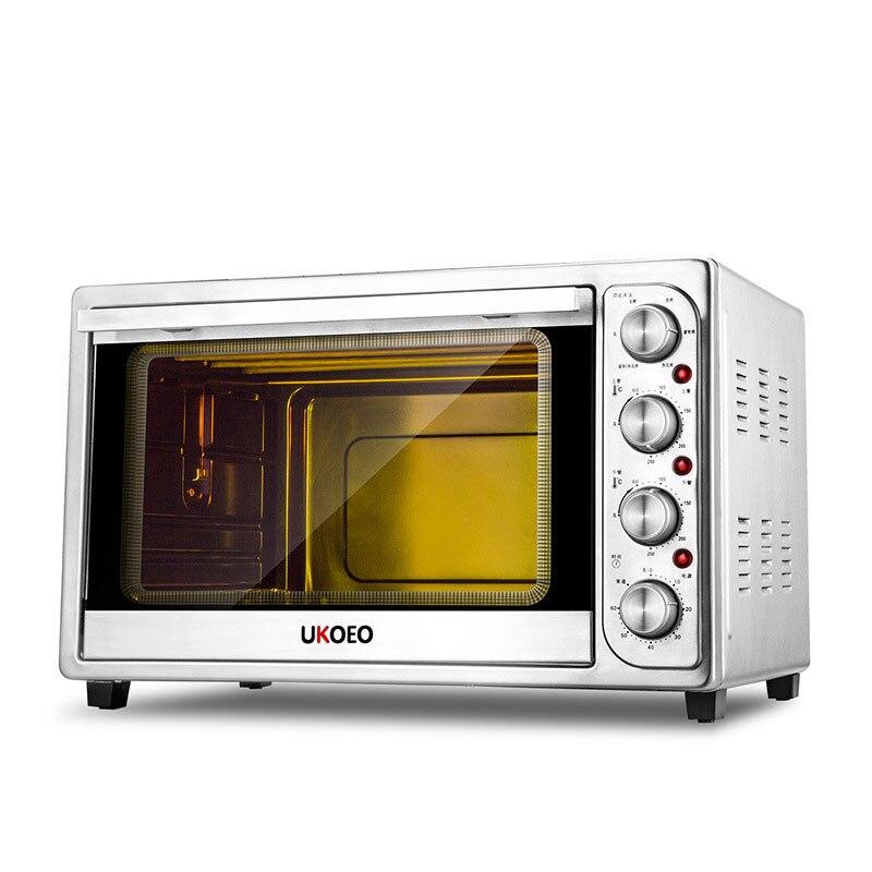 Four électrique multifonction four à pain domestique grande capacité cuisinière à gâteau à contrôle de température indépendant