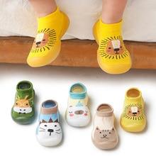 Baby Sock Shoes Anti-Slip Spring Animal Breathable Cartoon Autumn Sole Soft TPE