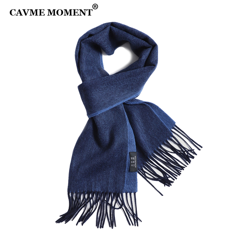 Cashmere-Scarf Winter Scarves LETTERS Basic CUSTOM Unisex Business-Wraps Double-Colors title=