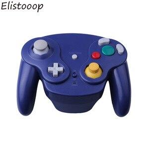 Image 4 - Para gamecube gamepad sem fio 2.4 ghz bluetooth controlador de jogo joystick para nintendo para gamecube para ngc para wii