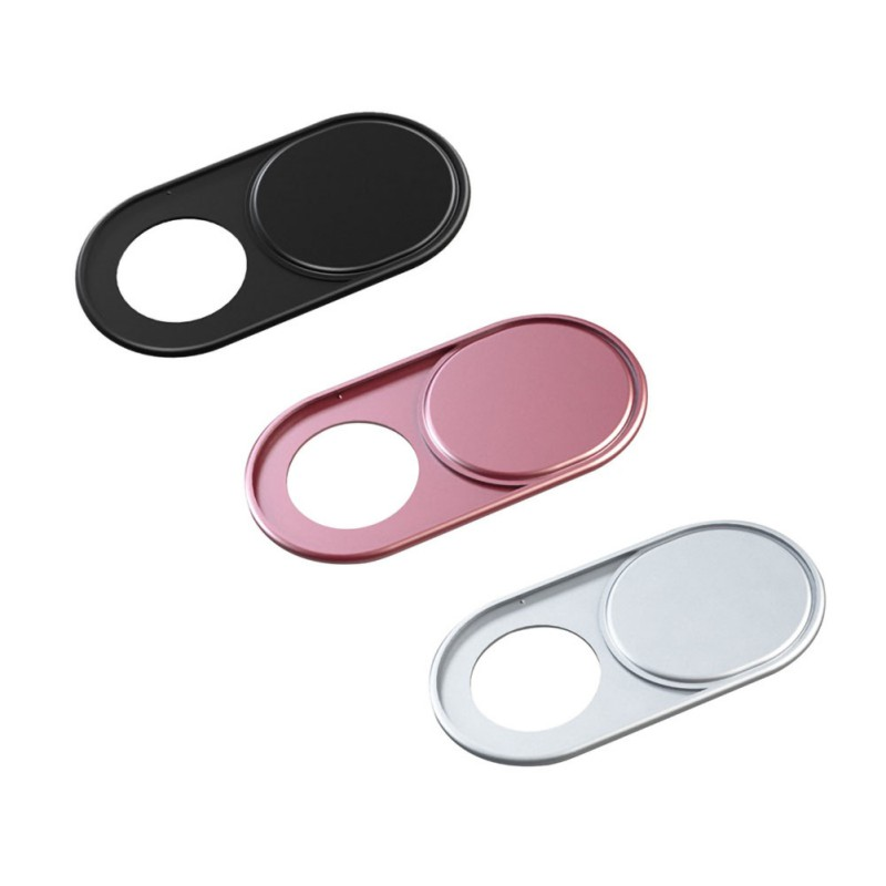 Computer Tablet Phone Webcam Cover Anti-peeping Ultra Thin Camera Slide Blocker Shutter Sticker 1/3pcs Accessories