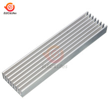 100x25x10mm Aluminum Heat Sink Heatsink For High Power LED Amplifier IC Chip Transistor Radiator Cooling cooler(China)
