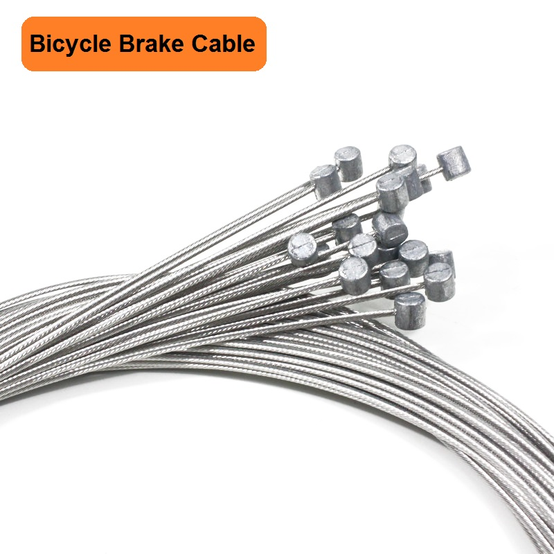 5PCS Bicycle Brake Cables Mountain Bike Brake Inner Cable Stainless Steel Brake Cable Bike Accessories