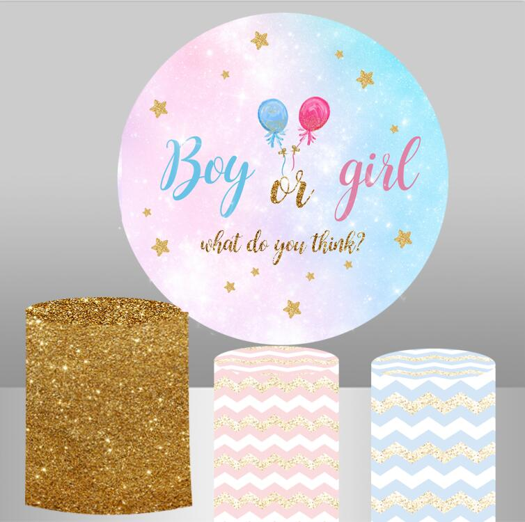 Фон для фотосъемки новорожденных детей с изображением круглого круга, вечерние баннеры для новорожденных, YY417