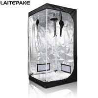 60*60*140Cm Led Plant Lamp Indoor Hydrocultuur Groeien Tent Tuin Kas Reflecterende Mylar Niet Giftig Kamer doos Groene Huis