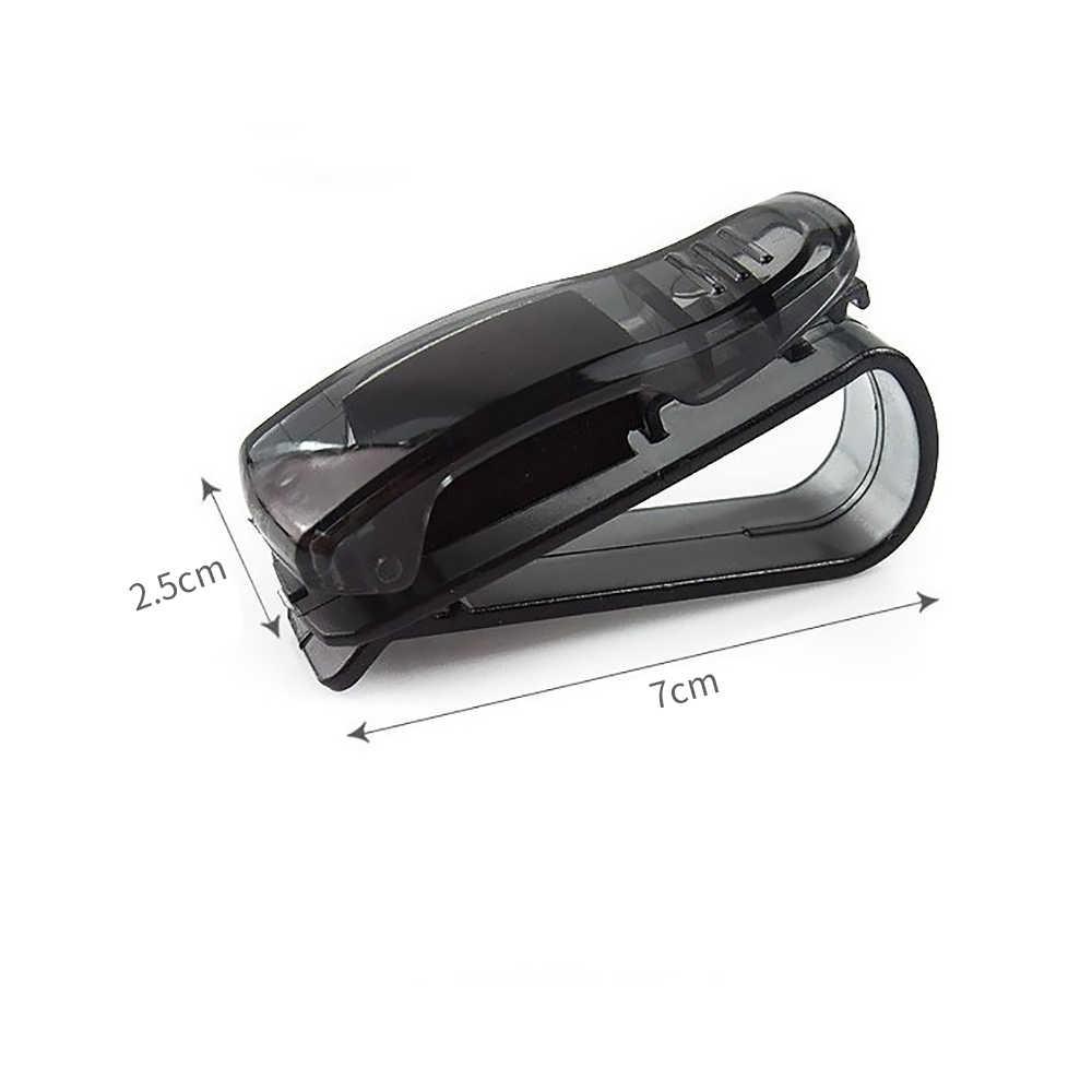 TOSPRA araba-styling araba güneşlik gözlük güneş gözlüğü bilet makbuz kart klibi depolama tutucu araba güneş gözlüğü klip