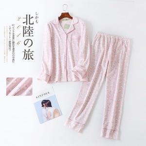 Image 4 - Plus Size Leuke Cartoon Pyjama Sets Vrouwen Nachtkleding 100% Geborsteld Katoen Winter Warm Casual Lange Mouwen Cozy Vrouwen Pyjama